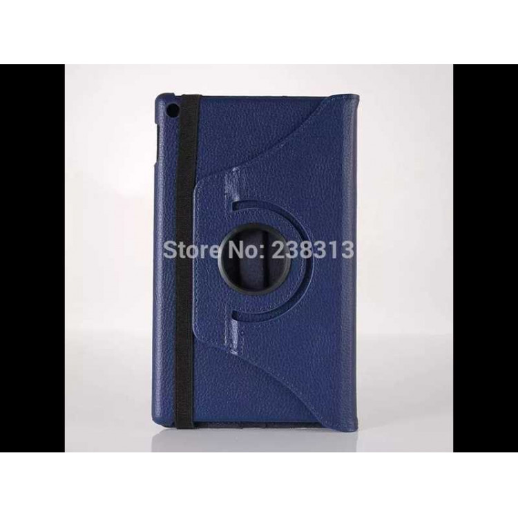 Capa Tablet Amazon Kindle Fire Hd 8 360 Graus-Azul escuro
