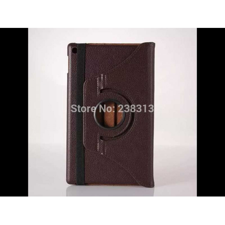 Capa Tablet Amazon Kindle Fire Hd 8 360 Graus-Marrom