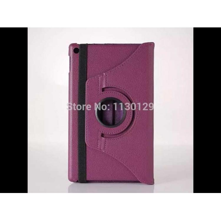 Capa Tablet Amazon Kindle Fire Hd 8 360 Graus-Roxo